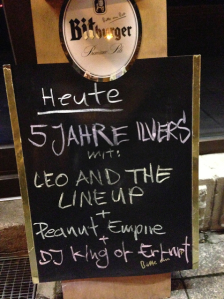 5 Jahre Ilvers mit Leo & The Lineup